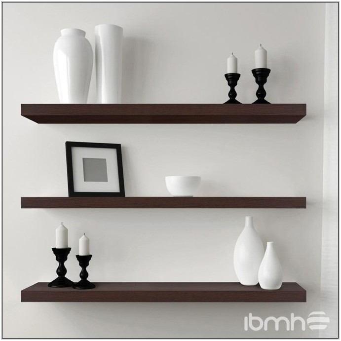 Glass Corner Shelf For Living Room