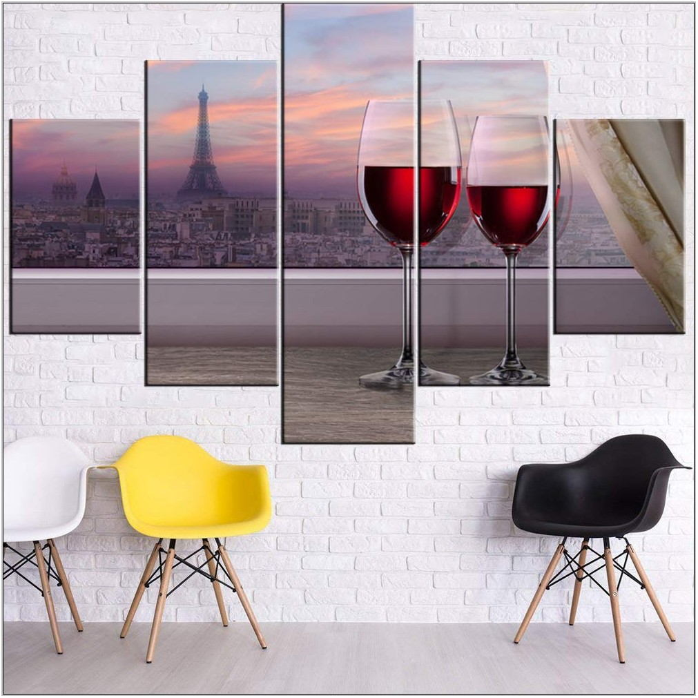 Glass Paintings For Living Room