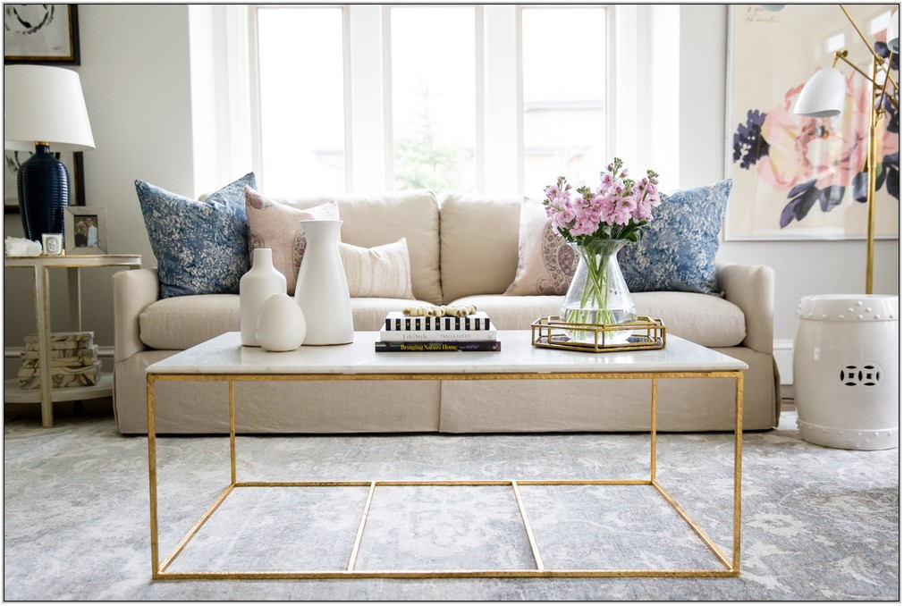Gold Coffee Tables Living Room