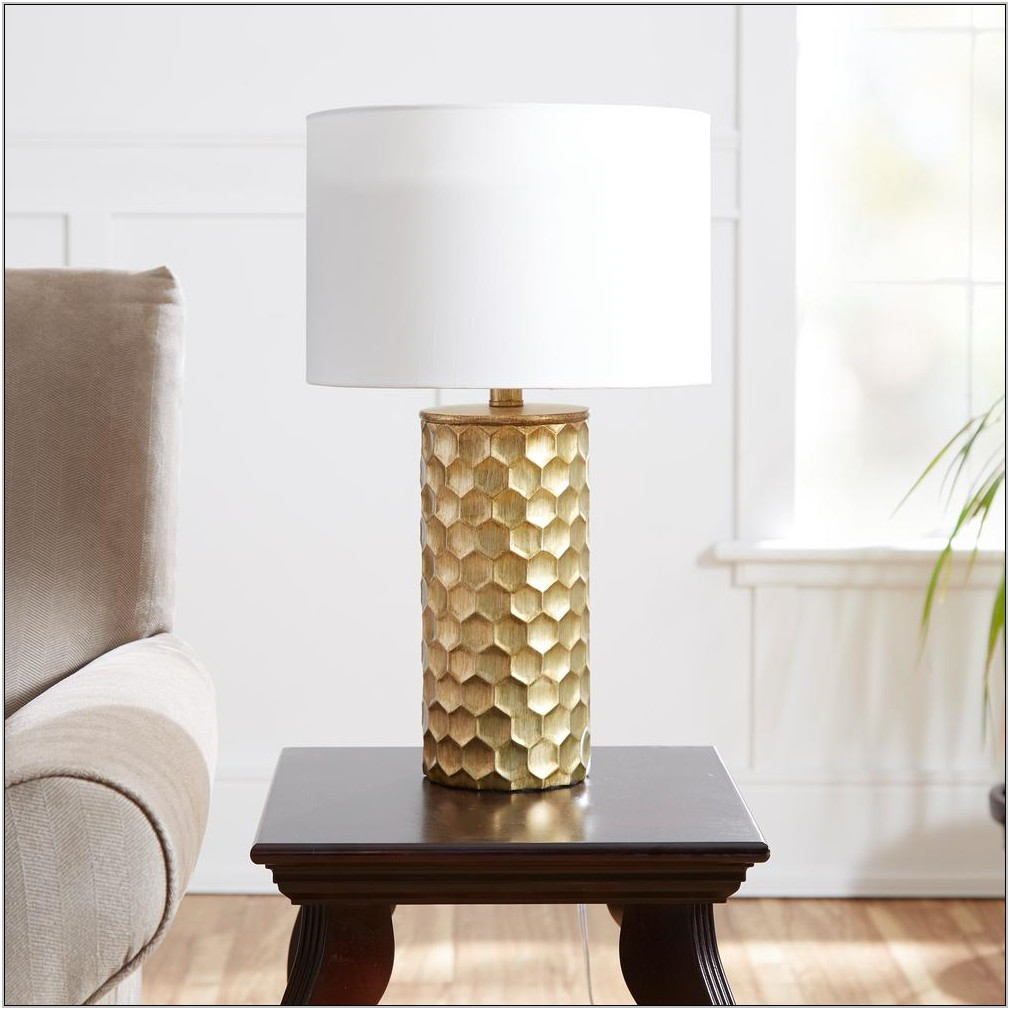 Gold Living Room Table Lamps