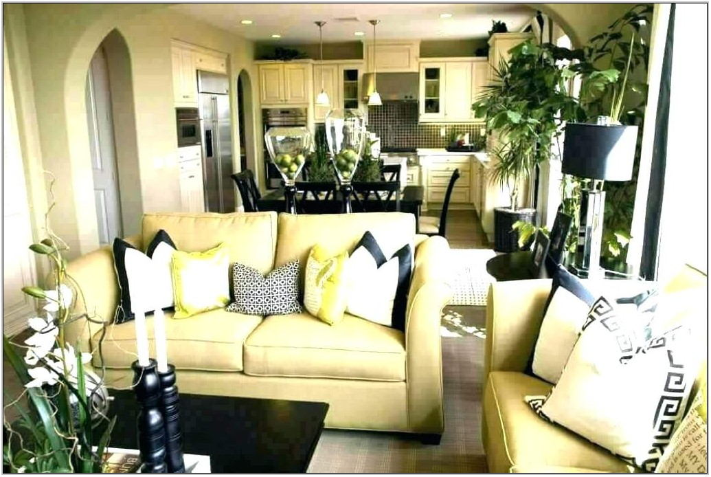 Gold Living Room Table Sets
