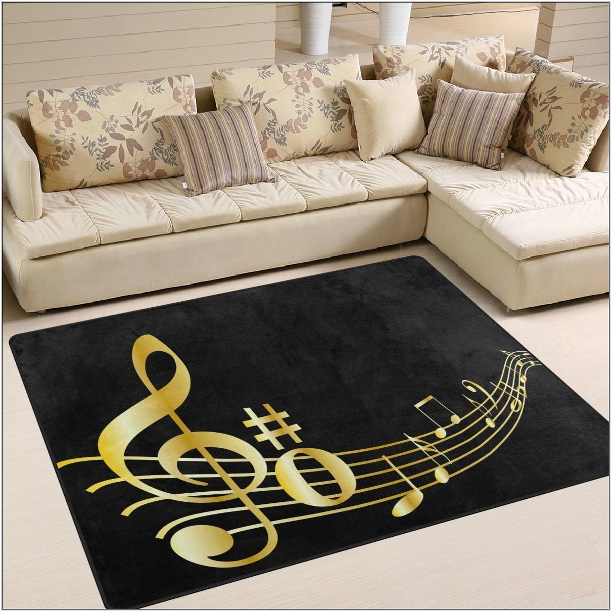 Gold Rug For Living Room
