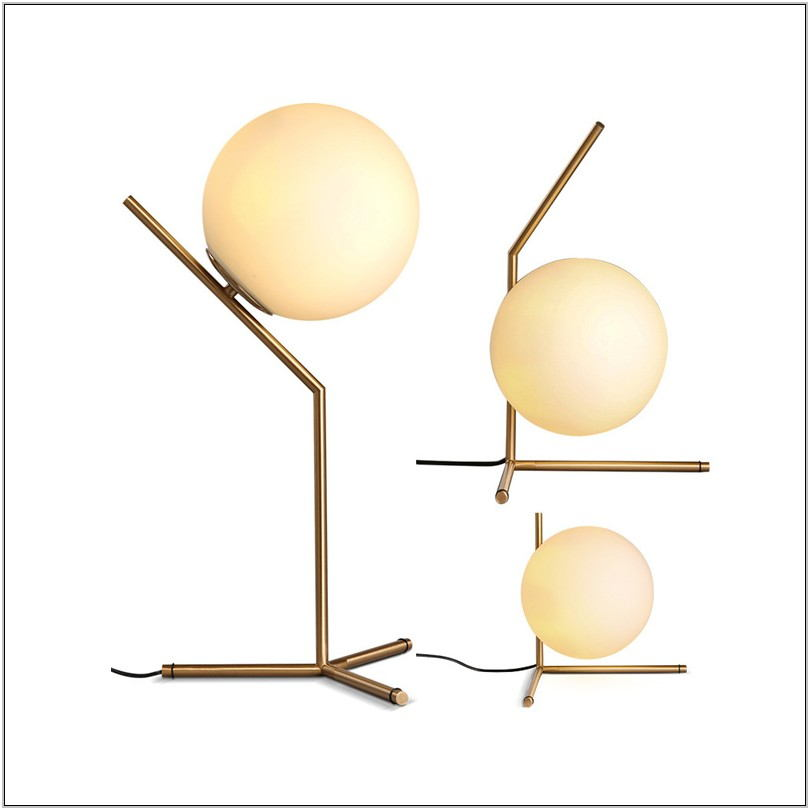 Gold Table Lamps For Living Room