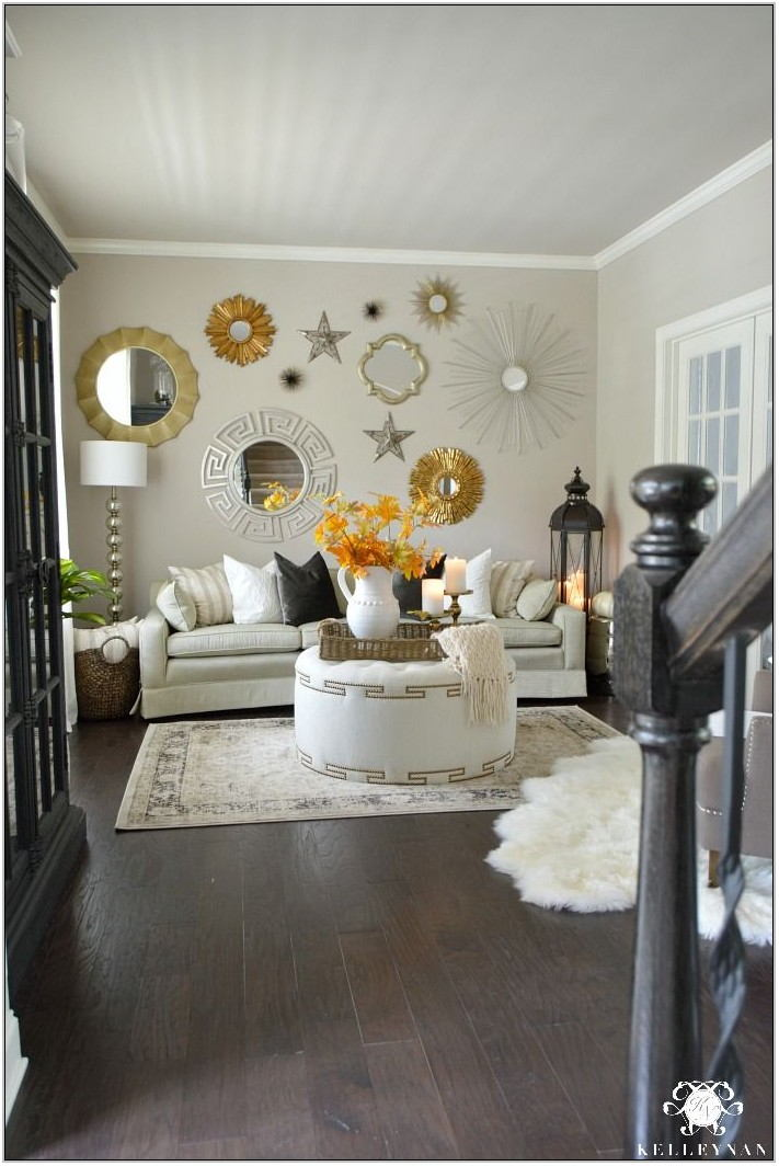 Gold Wall Decor Living Room