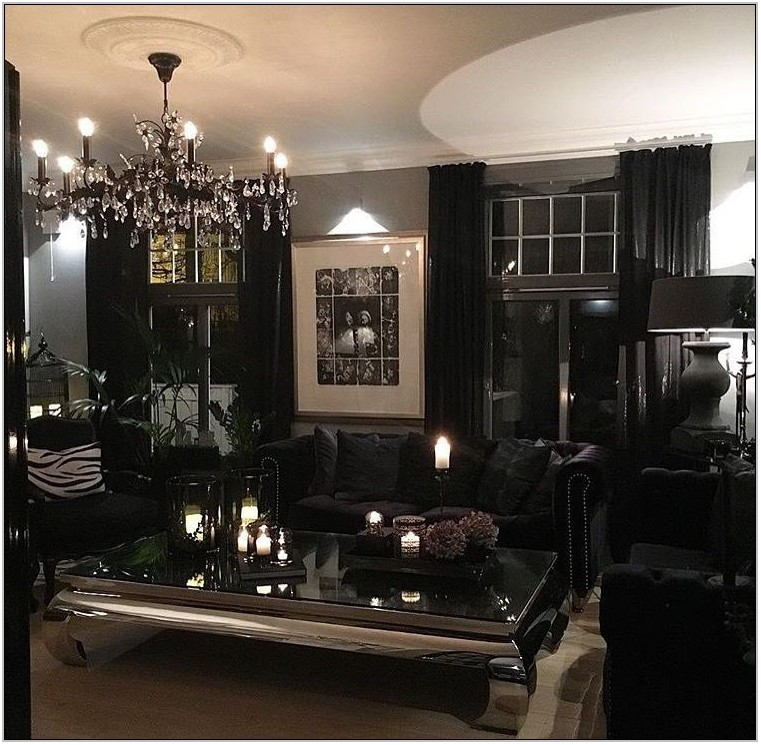 Gothic Living Room Furniture