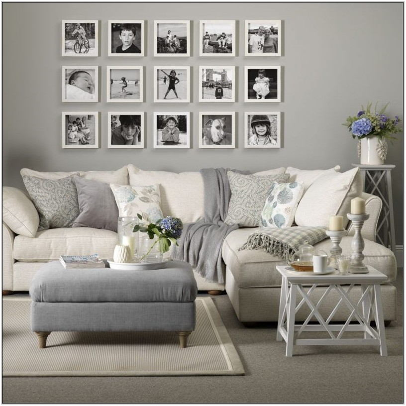 Gray And White Living Room Furniture