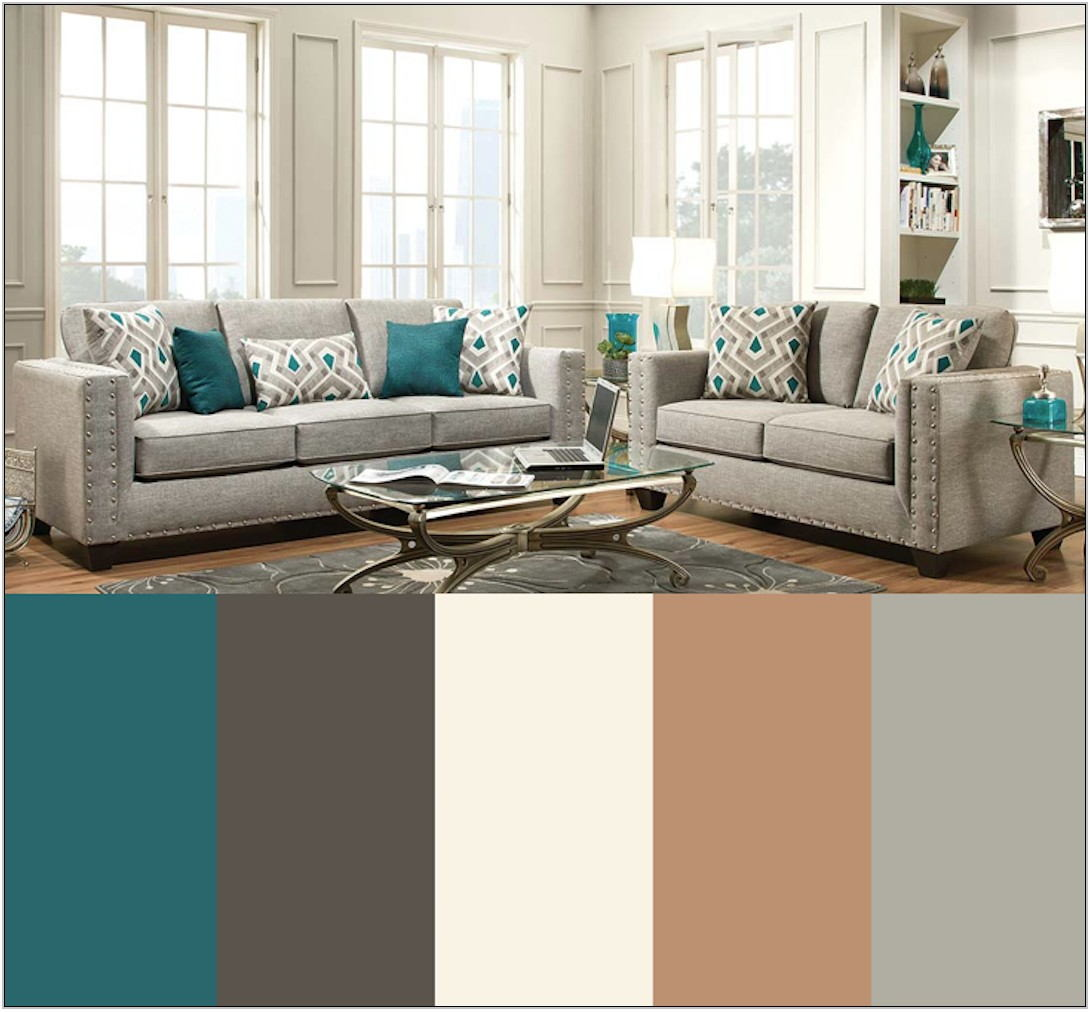 Gray Color Palette For Living Room