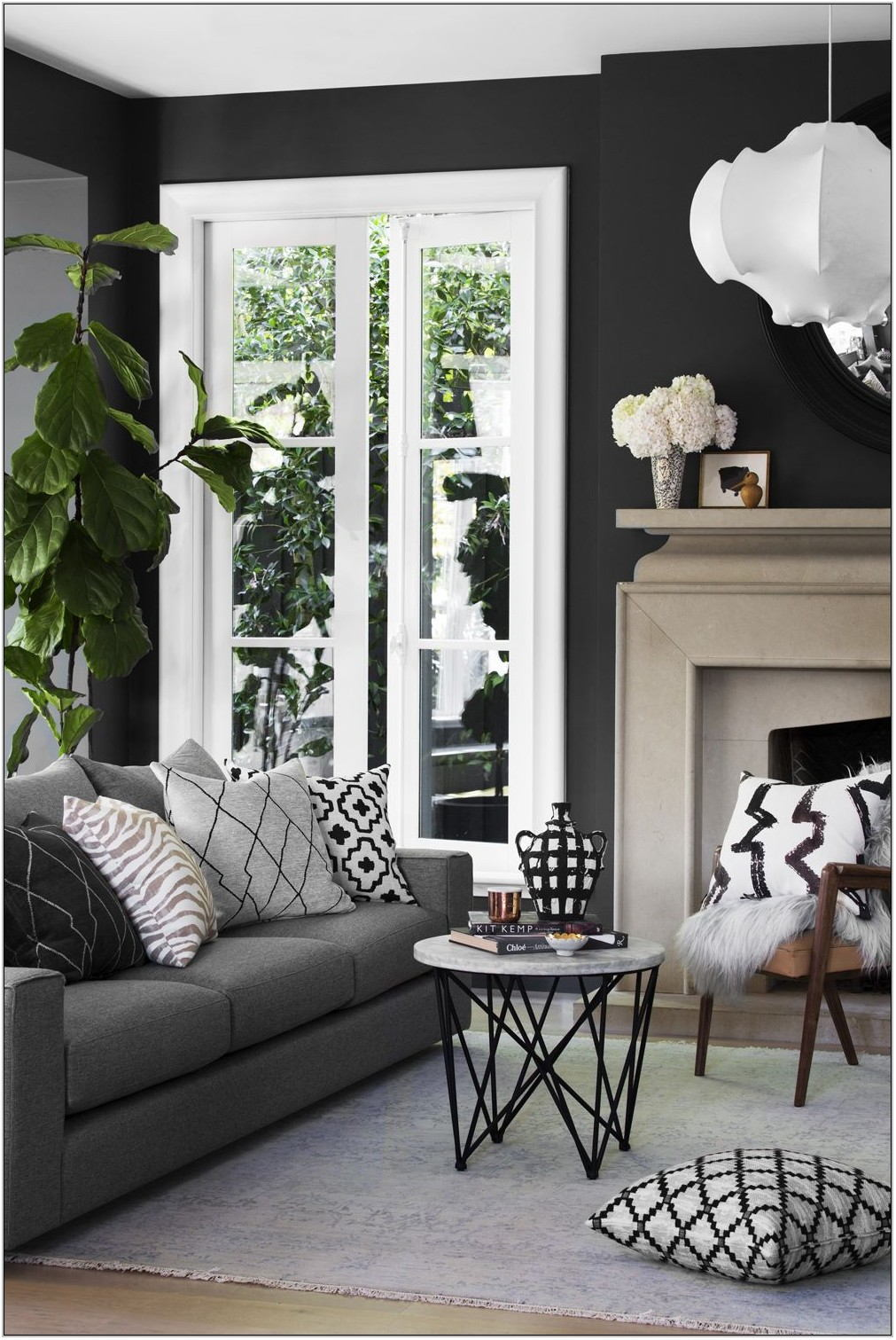 Gray Couch Living Room Colors