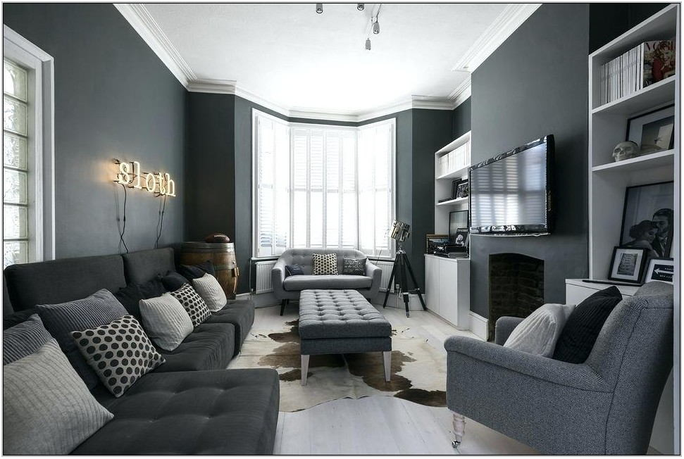 Gray Living Room Designs