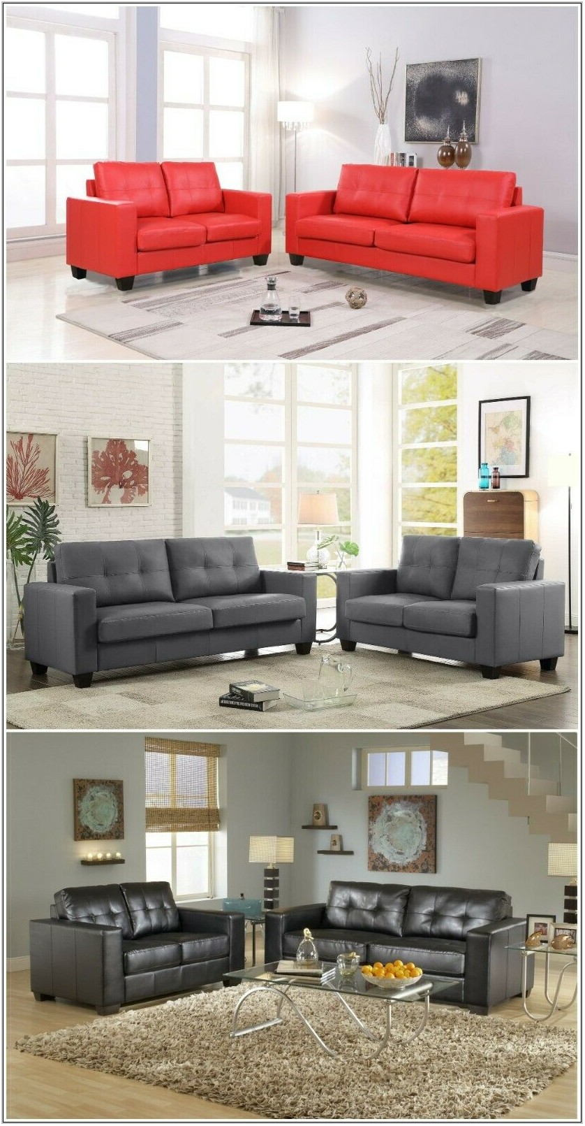 Gray Living Room Set For Sale