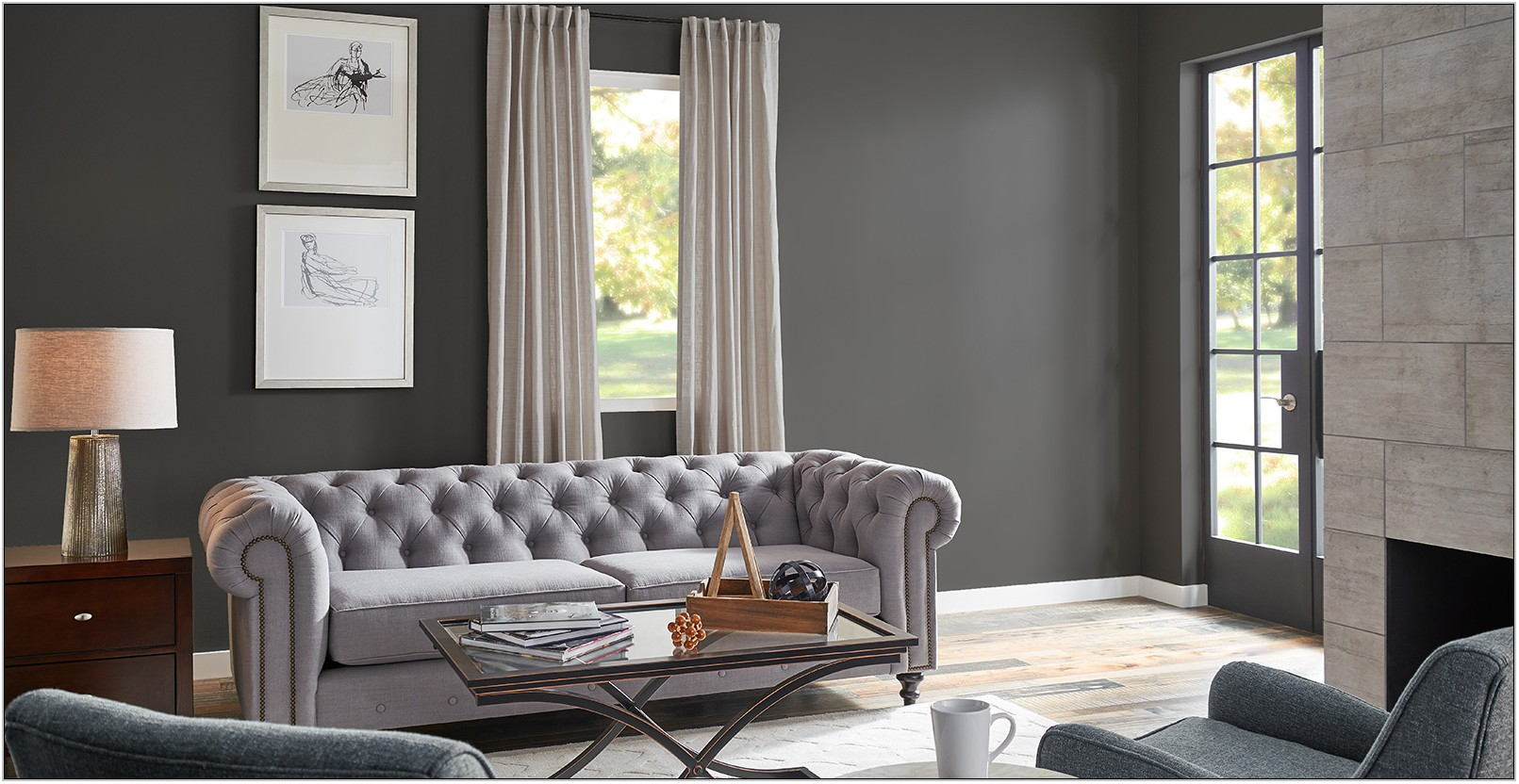 Gray Paint Living Room Ideas