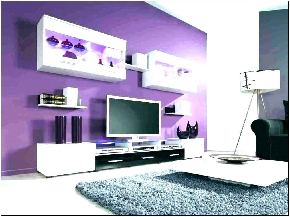 Gray Purple Living Room Ideas