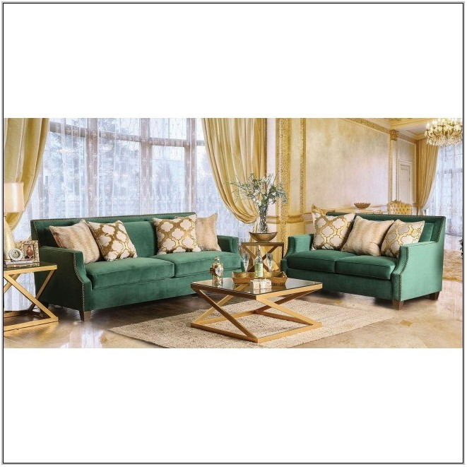 Green Furniture Living Room