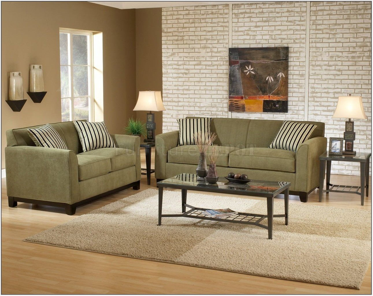 Green Paint Ideas For Living Room