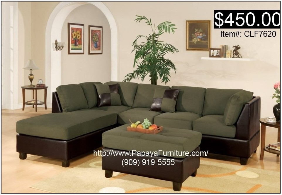 Green Sectional Sofa Living Room