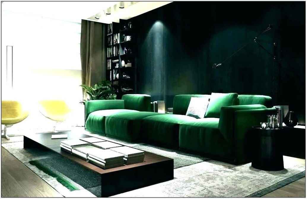 Green Sofa Living Room Ideas