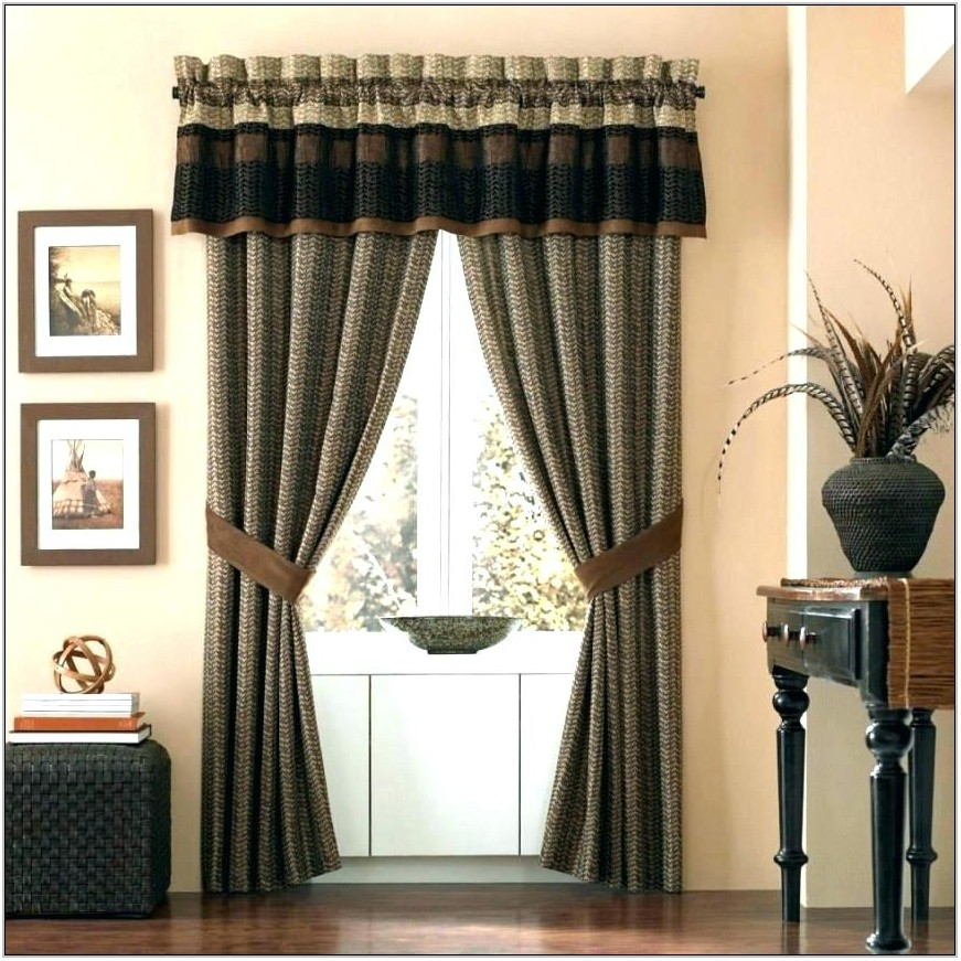 Green Valances For Living Room