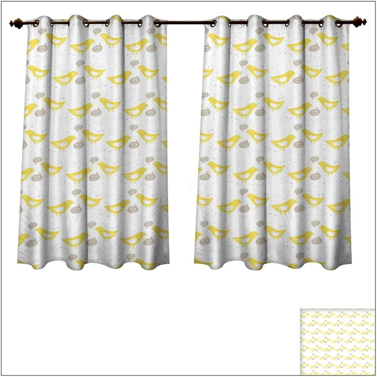 Grey And Yellow Curtains For Living Room