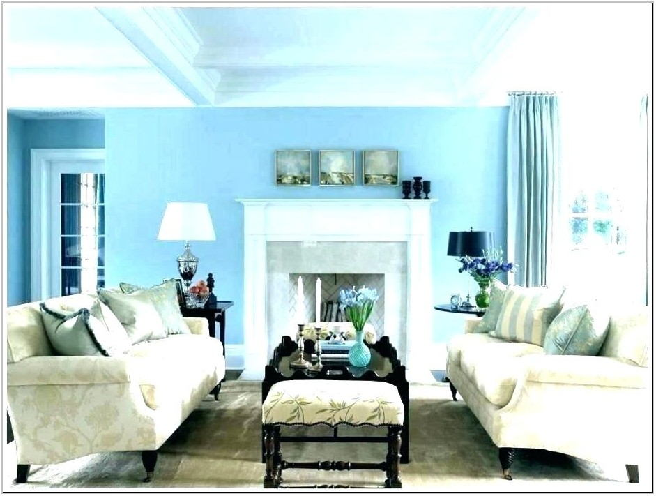 Grey Blue Paint Colors For Living Room