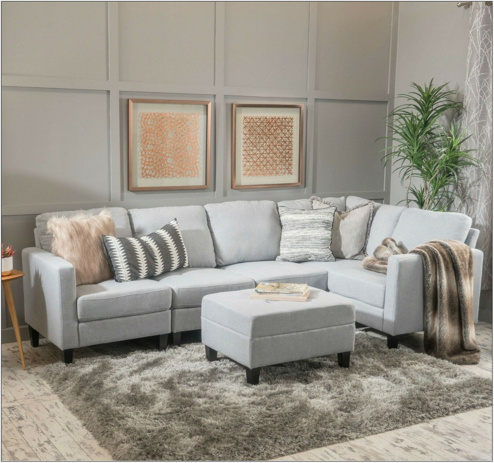 Grey Couch Living Room Set