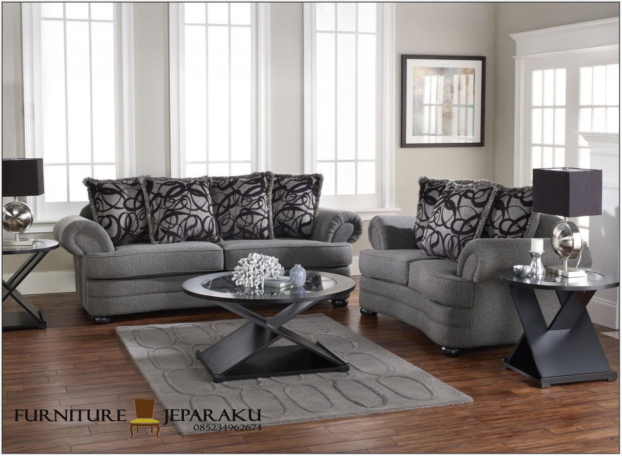 Grey Furniture Set Living Room
