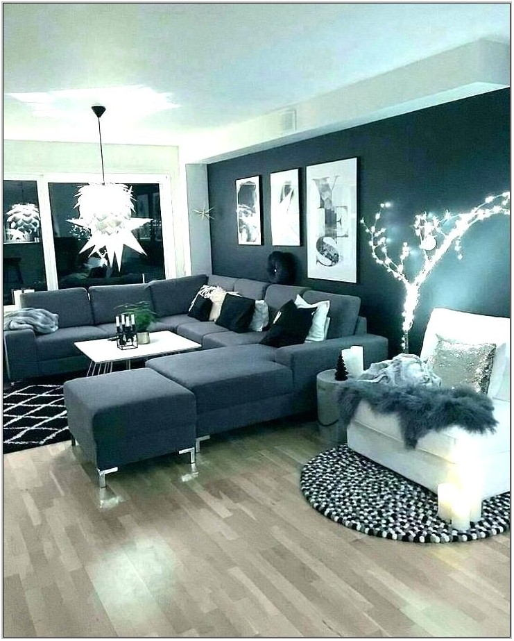 Grey Wall Living Room Ideas
