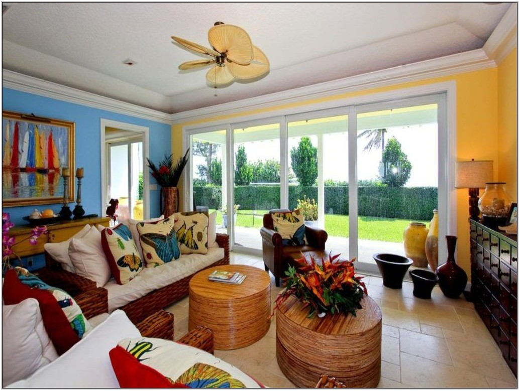 Hawaiian Decor Living Room