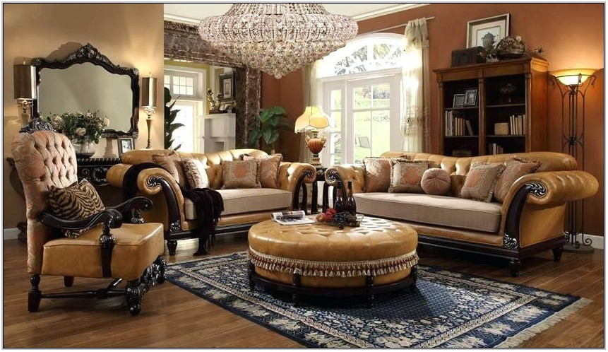High End Traditional Living Room Furniture