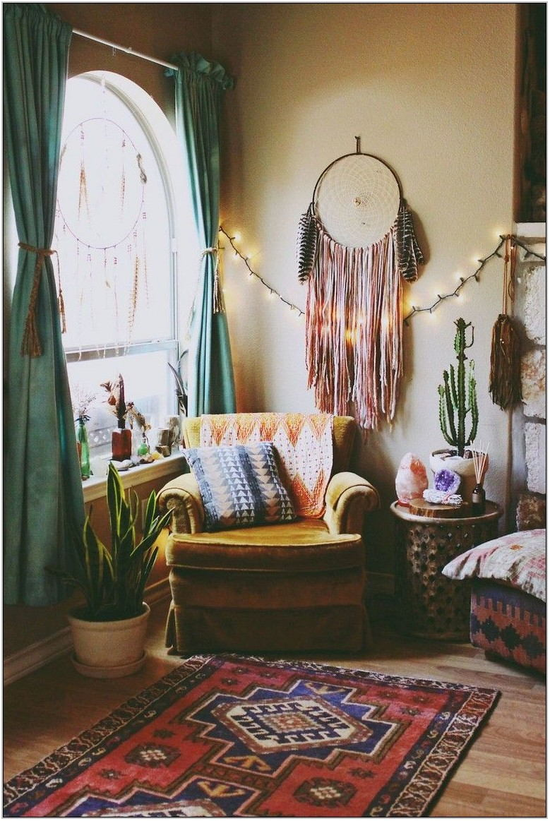Hippie Living Room Decor