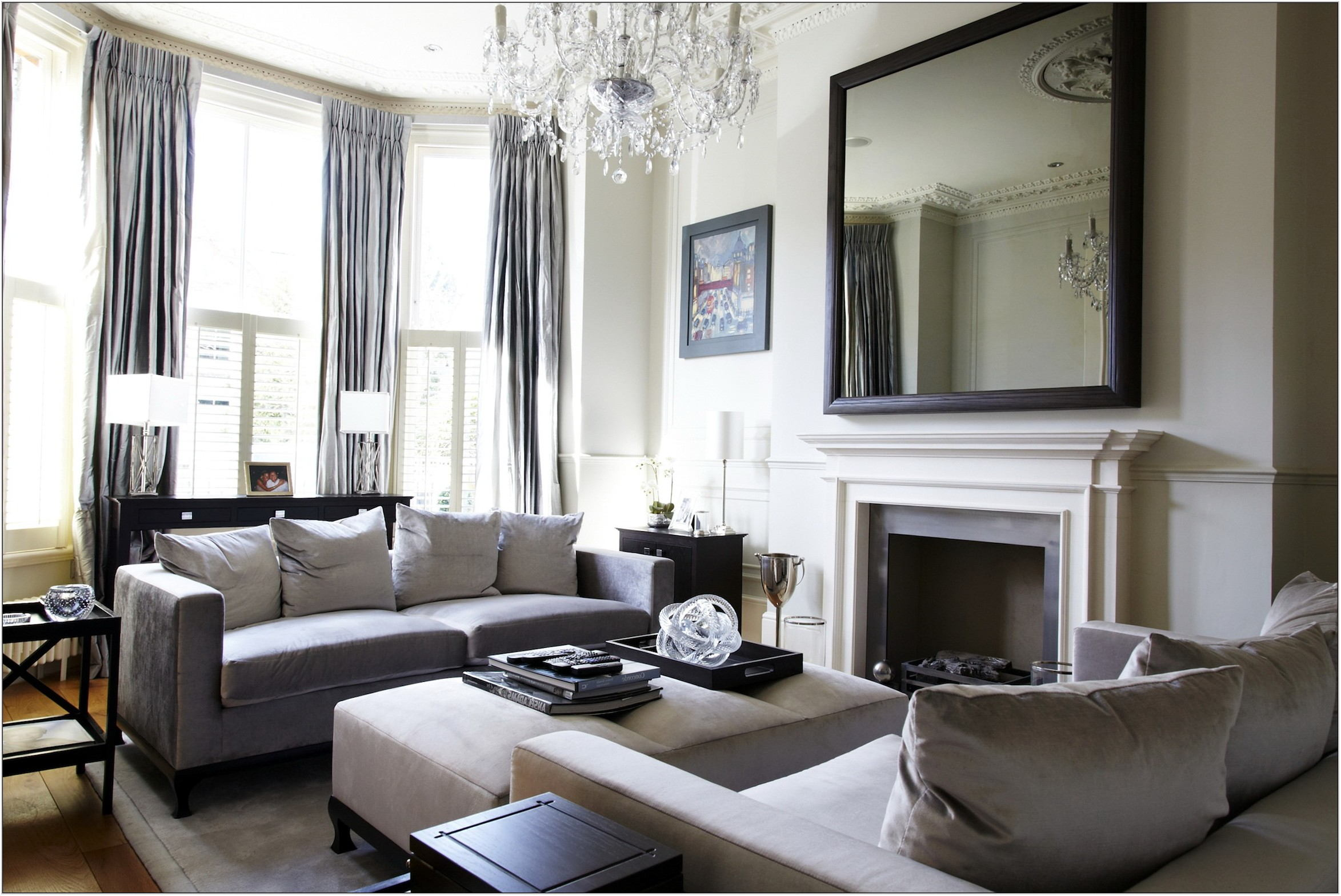 Houzz Mirrors In Living Room