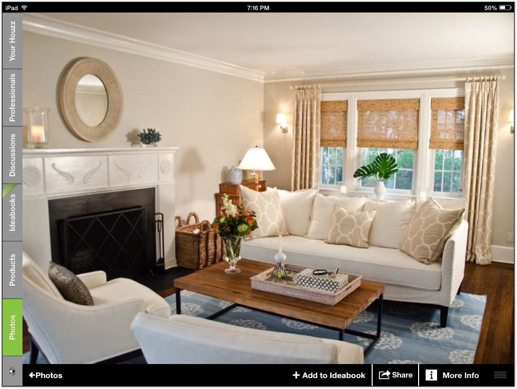 Houzz Window Treatments Living Room