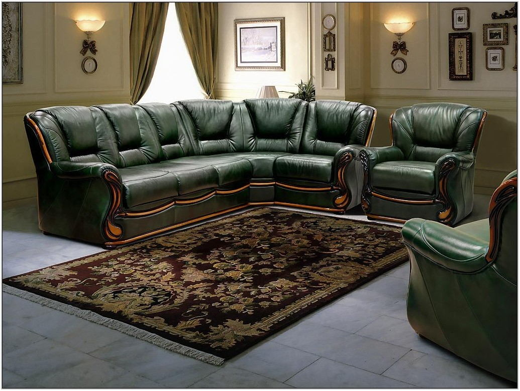 Hunter Green Living Room Furniture
