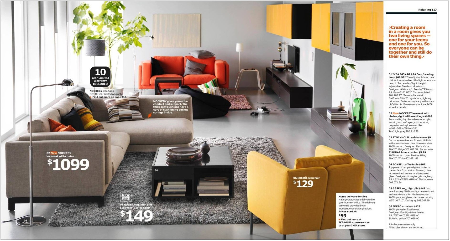 Ikea Living Room Sectionals