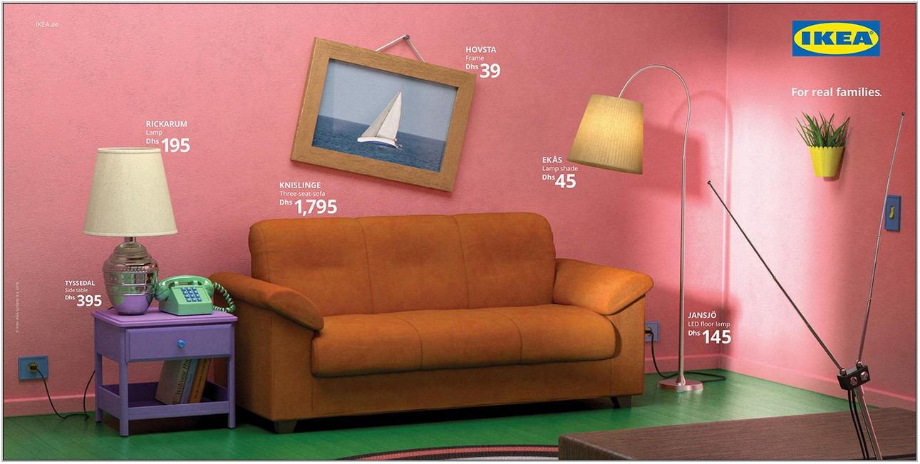 Ikea Simpsons Living Room
