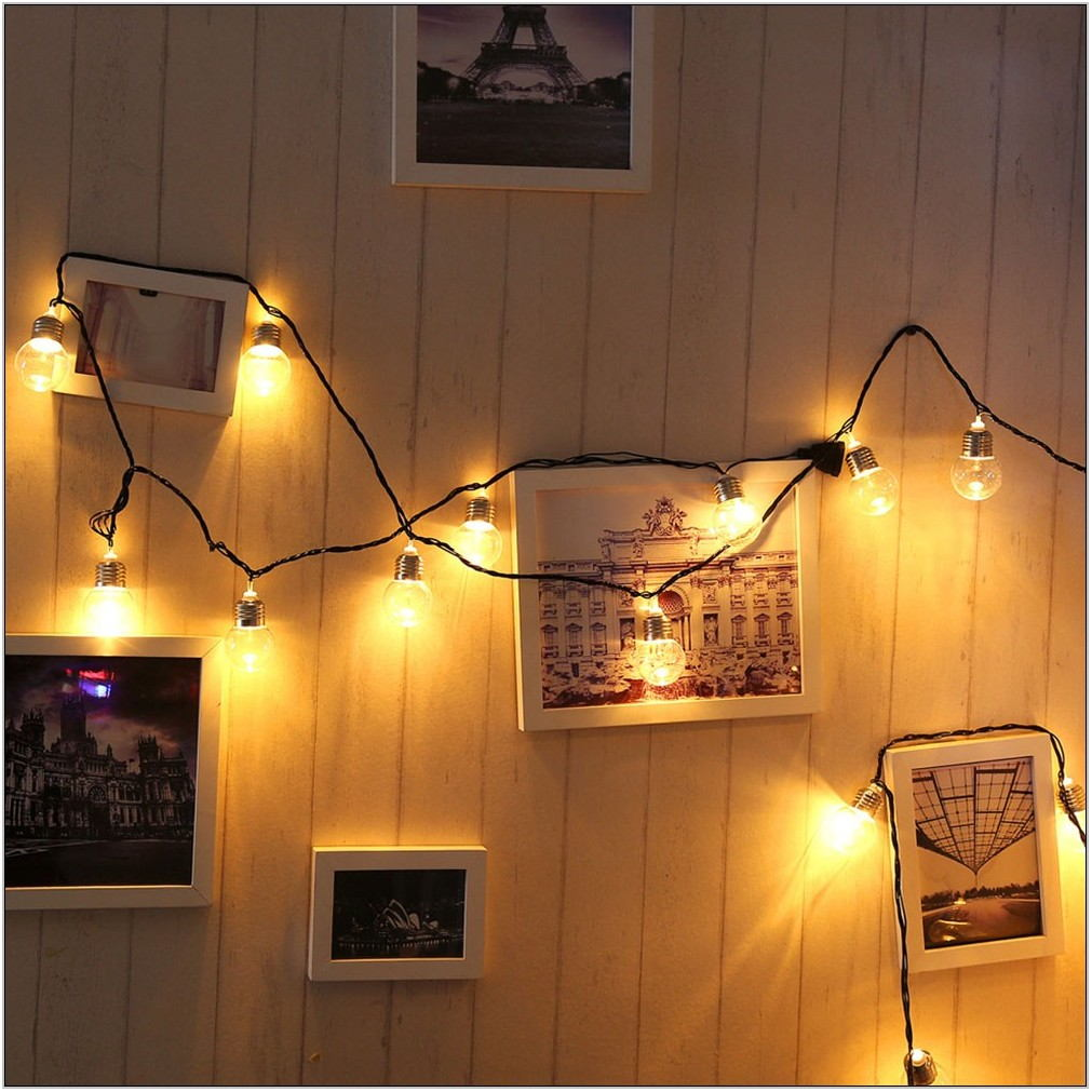 Indoor String Lights Living Room