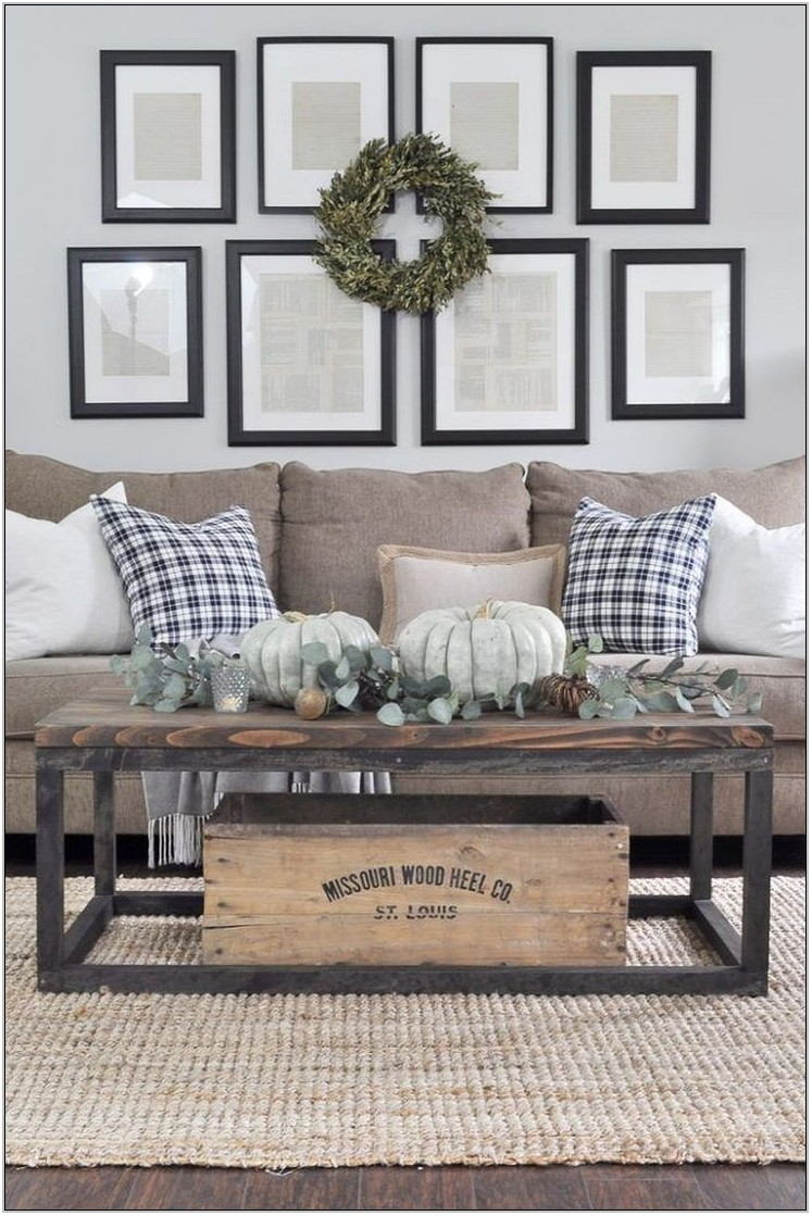 Industrial Farmhouse Living Room Furniture