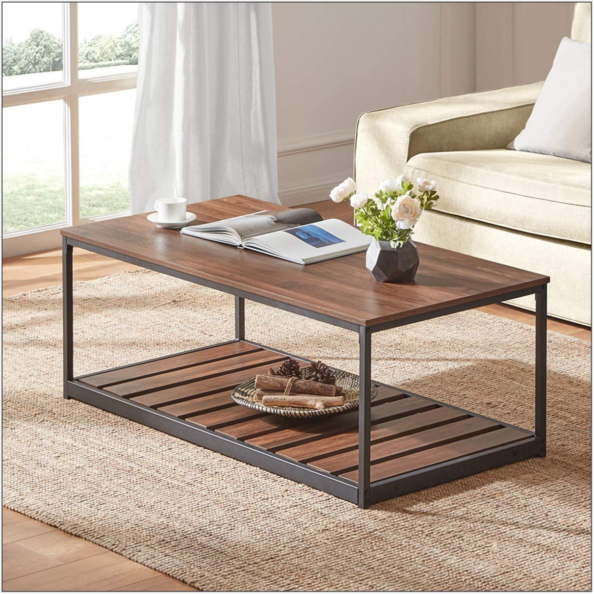 Industrial Living Room Table