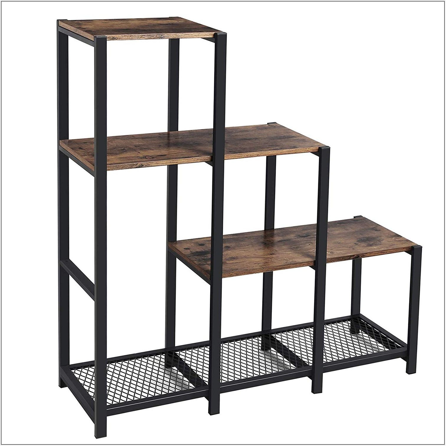 Industrial Shelving For Living Room
