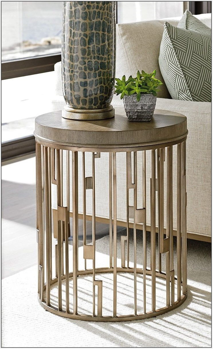 Industrial Side Tables For Living Room