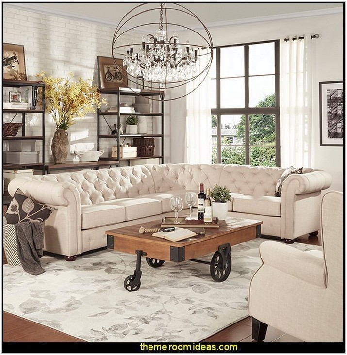 Industrial Style Living Room Furniture