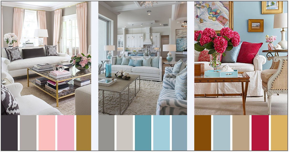 Interior Color Schemes For Living Rooms