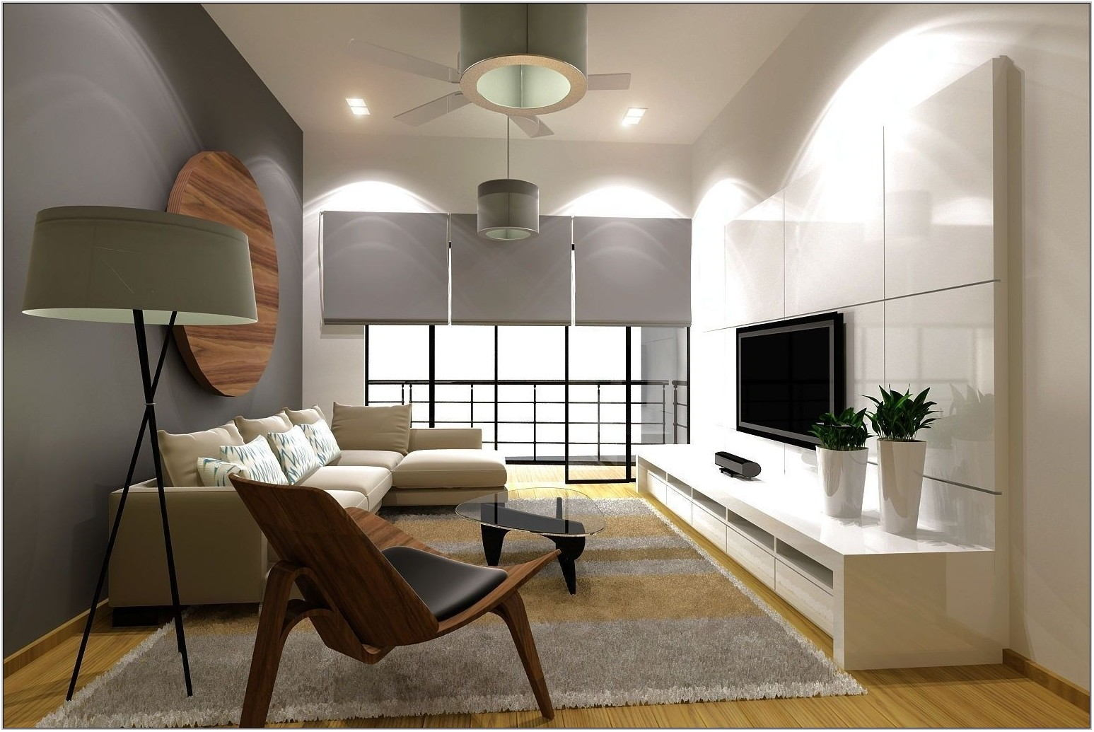 Interior Design For Condo Living Room