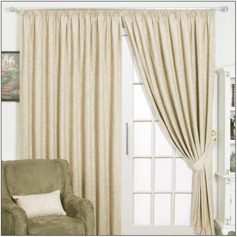 Ivory Living Room Curtains