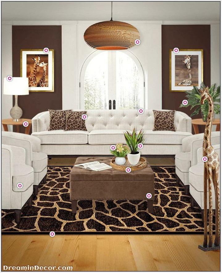 Jungle Theme Living Room