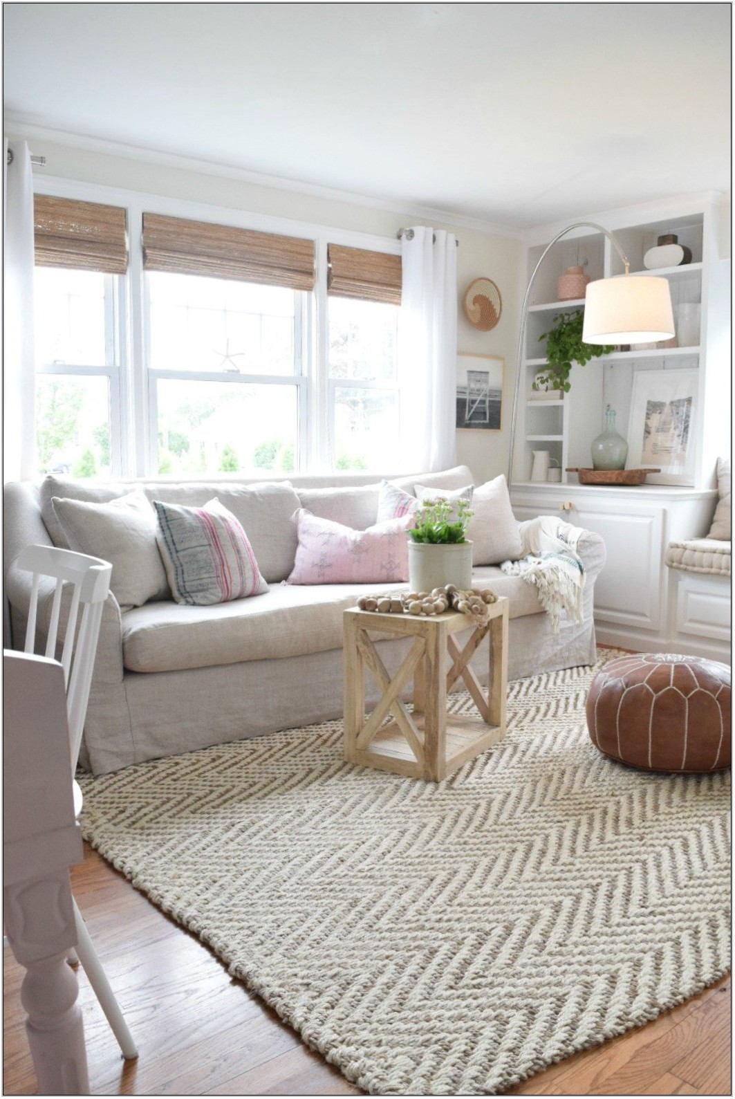 Jute Living Room Rug