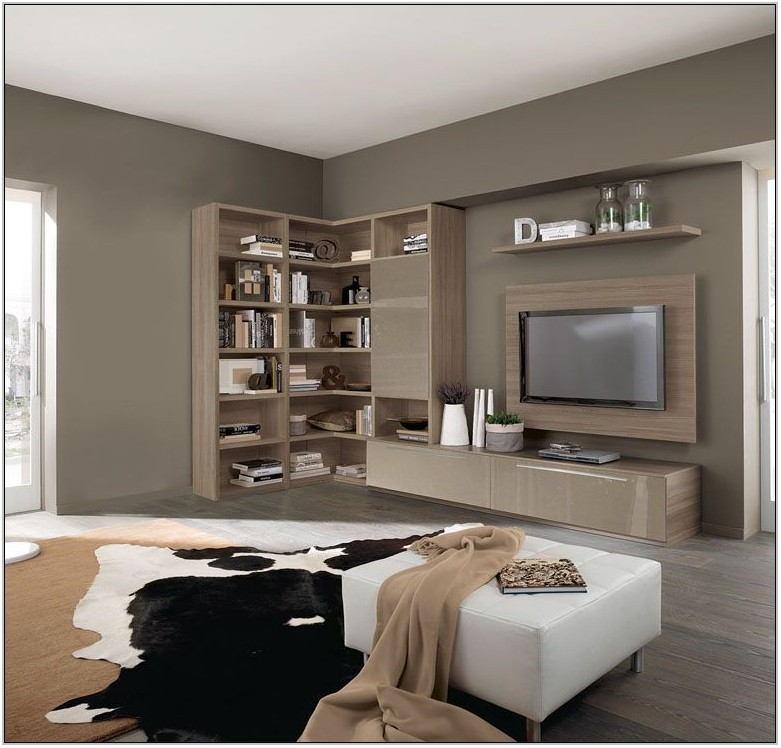 L Shaped Corner Unit For Living Room