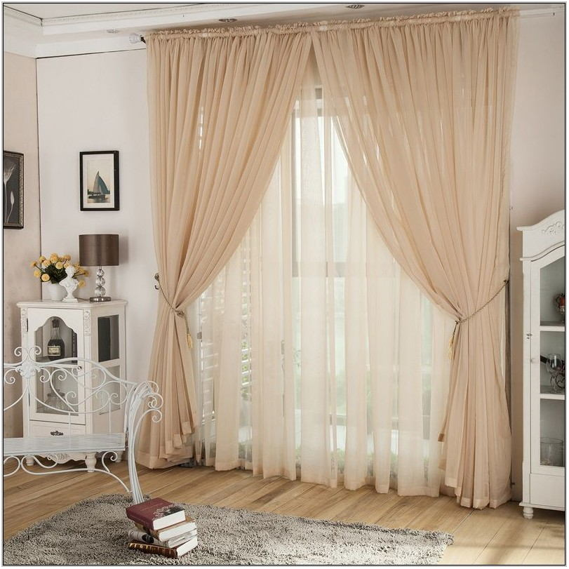 Lace Living Room Curtains