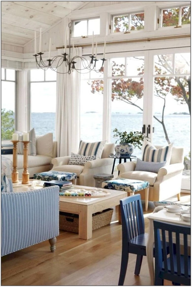 Lake House Living Room Ideas