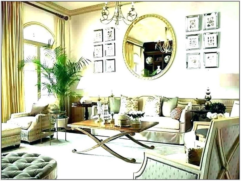 Large Framed Mirrors For Living Room