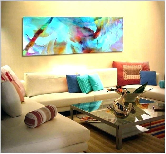 Large Modern Paintings For Living Room
